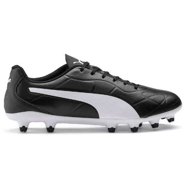Puma Monarch FG Football Boot Black/White