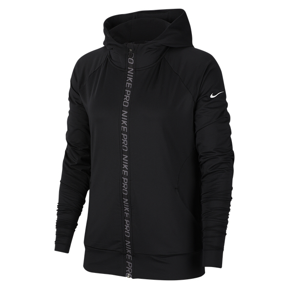 Nike Pro Warm Women's Hoody, Black