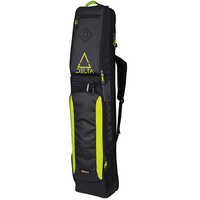 Grays Delta Hockey Bag Black/Yellow