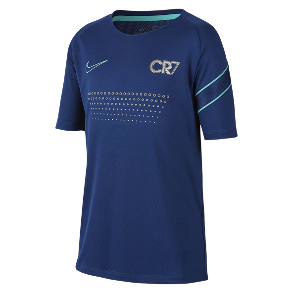 Nike CR7 Dry Boys' T-Shirt, Blue