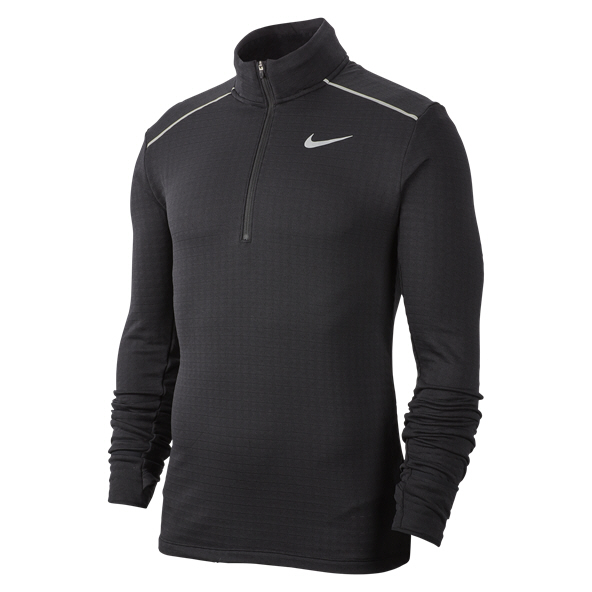 Nike Sphere Element 3.0 Run Half Zip Men's Top Black/Silver