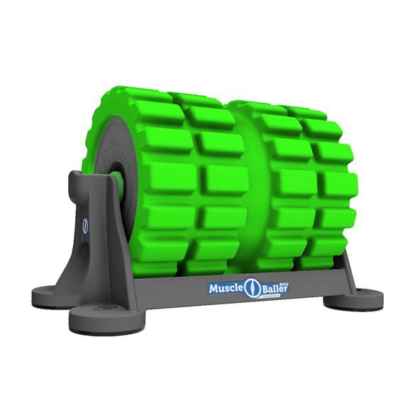 MuscleBaller® Rigid Foam Roller, Green