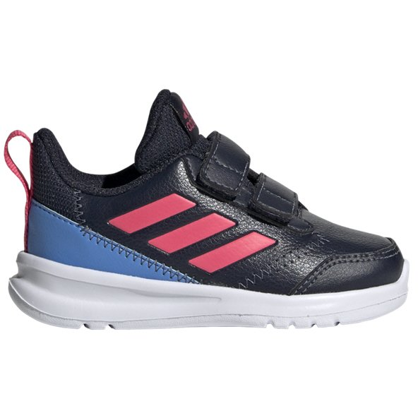 adidas AltaRun Infant Girls' Trainer, Navy