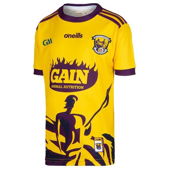 O'Neills Wexford 2019 Kids' Alternate Jersey Yellow