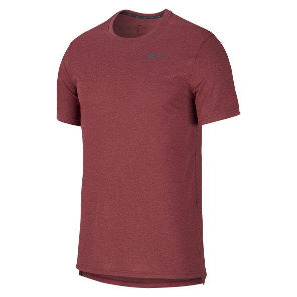 Nike Breathe Hyper Dry Men's T-Shirt Maroon
