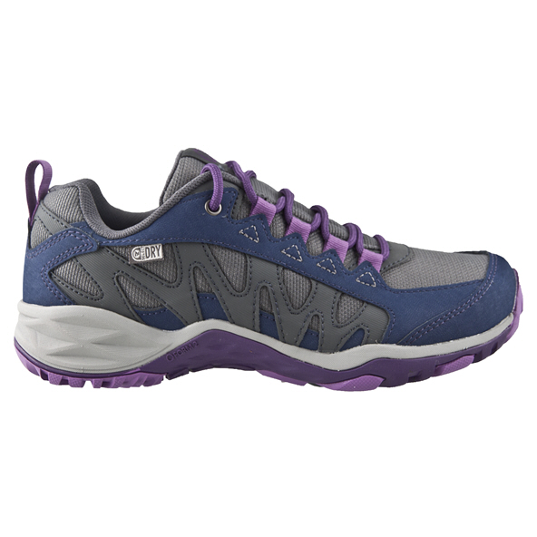 Merrell Lulea Waterproof Women's Hiking Shoe Purple