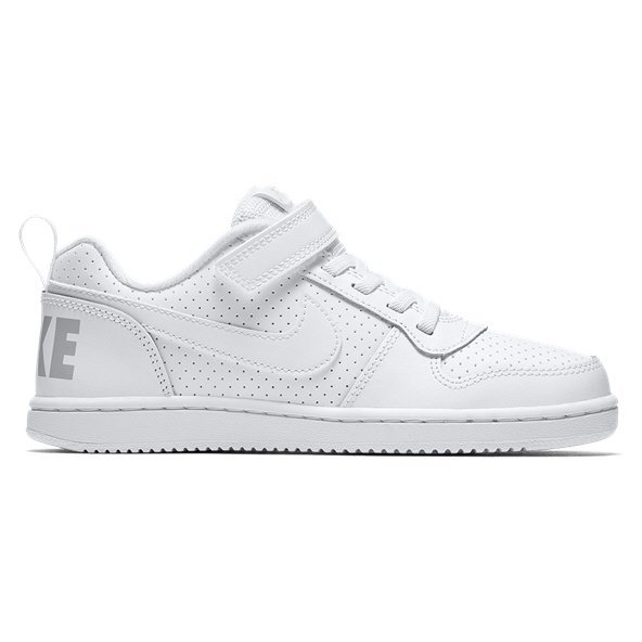 Nike Court Borough Low Junior Kids' Trainer, White