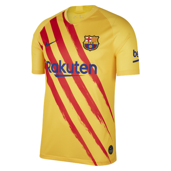 Nike FC Barcelona 2019 El Clasico Jersey, Yellow