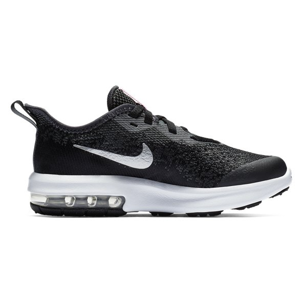 Nike Air Max Sequent 4 Jnr Girls Fw Blk