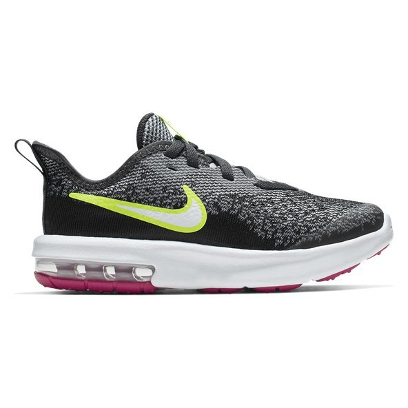 Nike Air Max Sequent 4 Junior Boys' Trainer, Grey