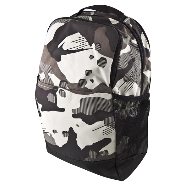Nike Brasilia 9.0 Medium Backpack, White Camo