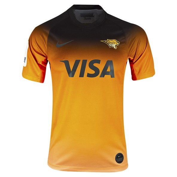 Nike Jaguares Away Short Sleeve Jersey Orange