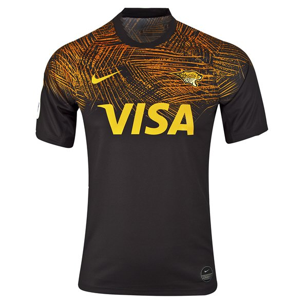 Nike Jaguares Home Kids Short Sleeve Jersey Black