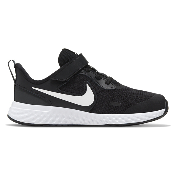 Nike Revolution 5 Junior Kids' Trainer, Black