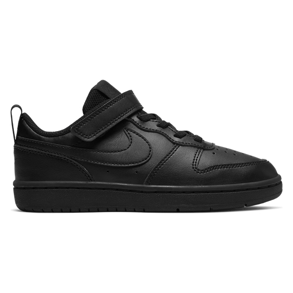 Nike Court Borough Low 2 Junior Kids' Trainer Black
