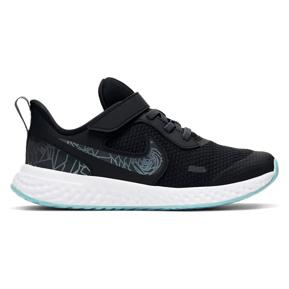Nike Revolution 5 Junior Girls' Trainer Black