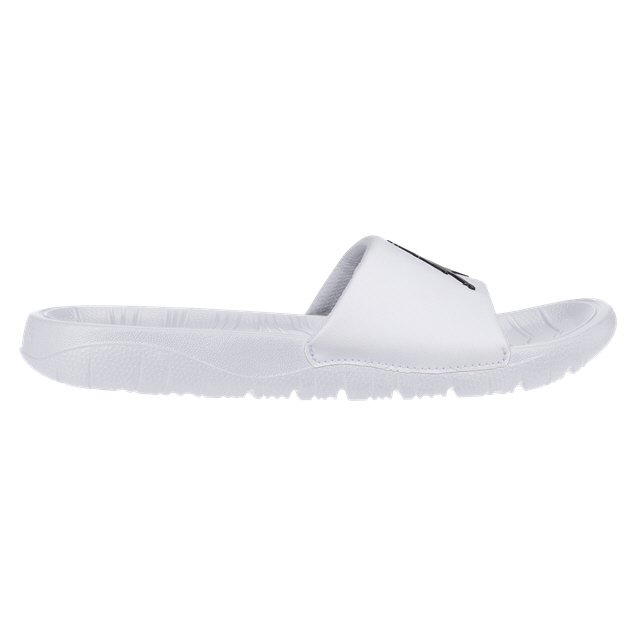 Nike Jordan Break Boys' Slides, White