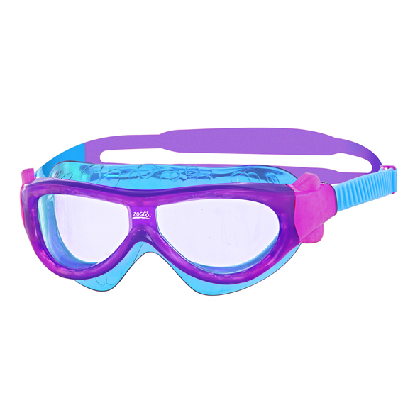 Zoggs Phantom Kids 0-6y Mask Purple/Blue