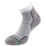 1000 Mile Run Anklet Lay Men 2pack Sock White