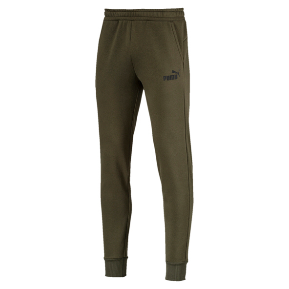 Puma ESS Logo Men's Pant, Forest Night