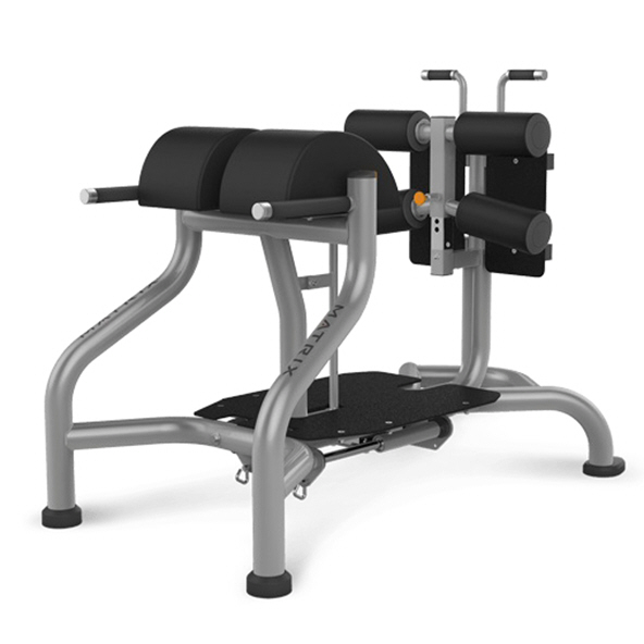 Matrix Glute Ham Bench Black