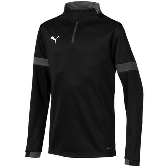 Puma FtblPLAY ¼-Zip Boys' Top, Black
