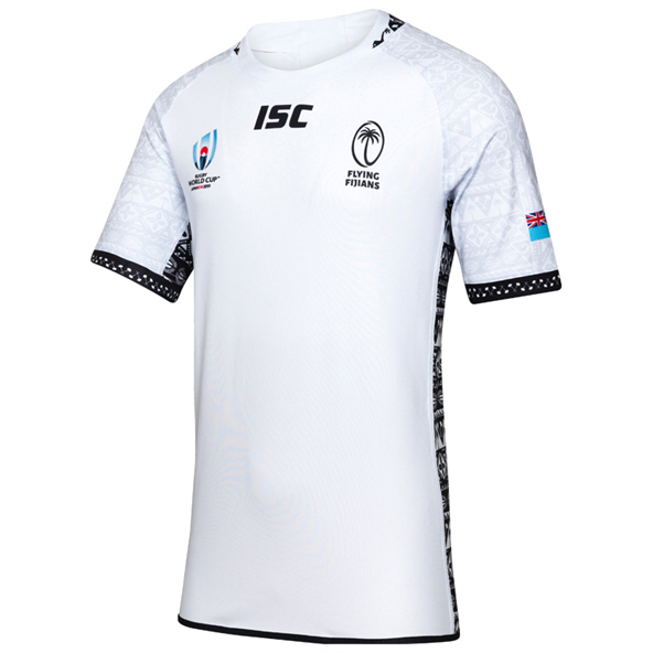 ISC Fiji  RWC19 Home Jersey White