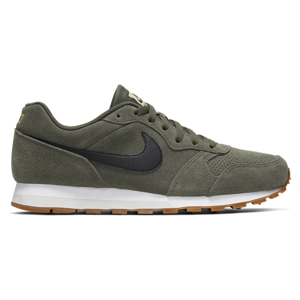 Nike MD Runner 2 Suede Men's Trainer, Black
