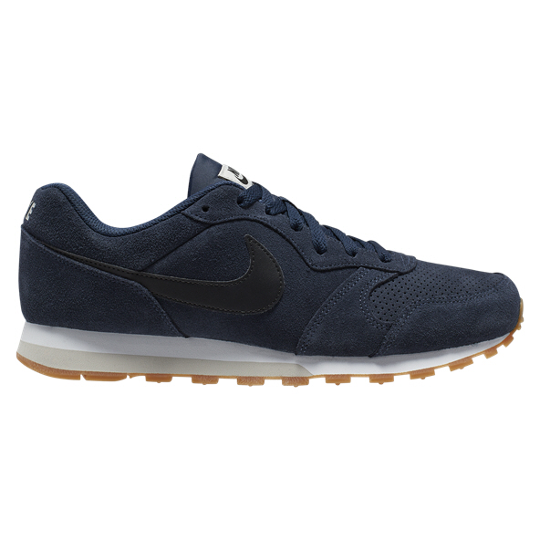 Nike MD Runner 2 Suede Men's Trainer, Navy