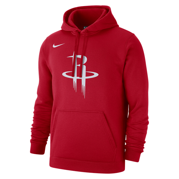 Nike Houston Rockets PO Logo Hoody Red