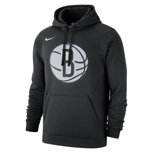 Nike Brooklyn Nets Hoody Black