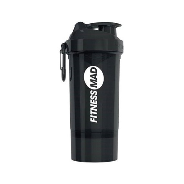 Fitness Mad Smartshake Shaker Black