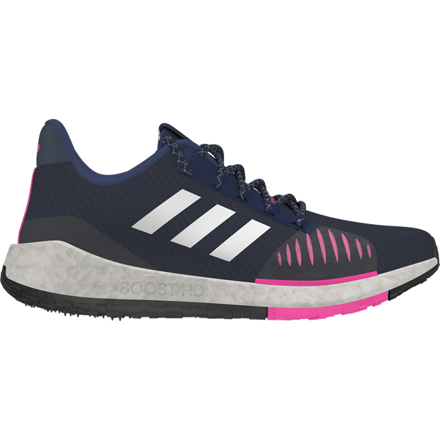 adidas PulseBOOST HD PRCT Women's Running Shoe, Blue