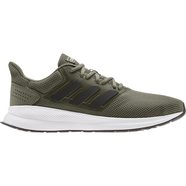 adidas RunFalcon Men's Running Shoe, Green | Elverys Ireland