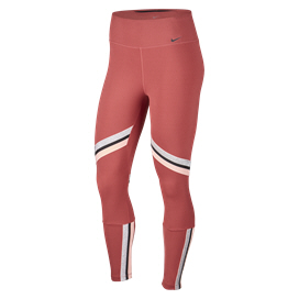 Nike One 7/8 Glam Dunk Women's Tights Red