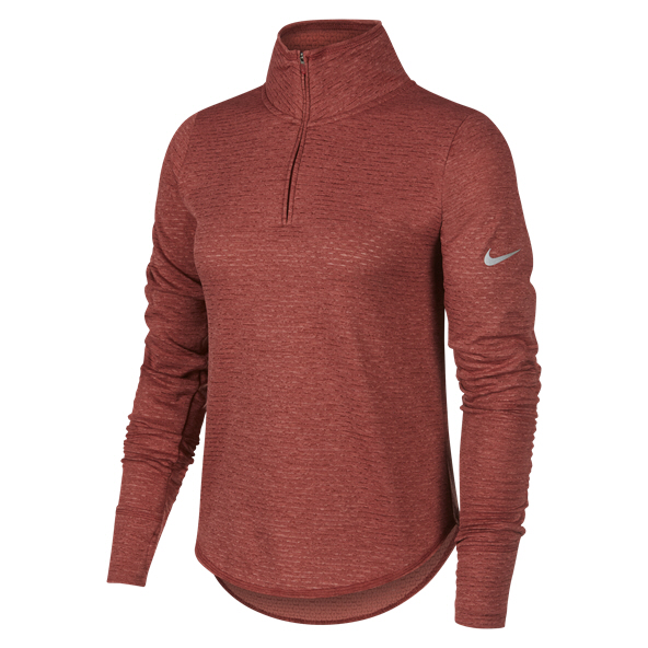 Nike Sphere Element ½ Zip Women's Running Top, Red