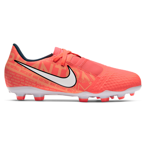 Nike Phantom Venom Academy Kids' FG Football Boot, Bright Mango