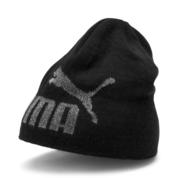 Puma Big Cat Beanie Mens Black/Grey