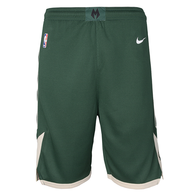 Nike Bucks Kids Short Green