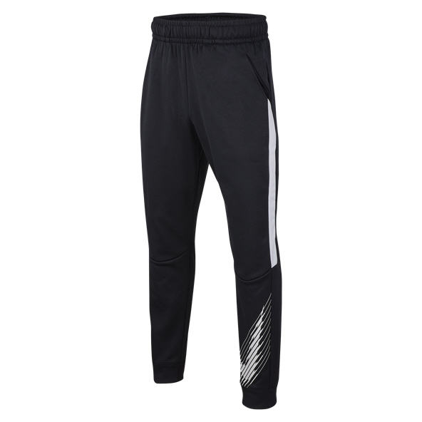 Nike Therma Tapered GFX Boys' Pant Black