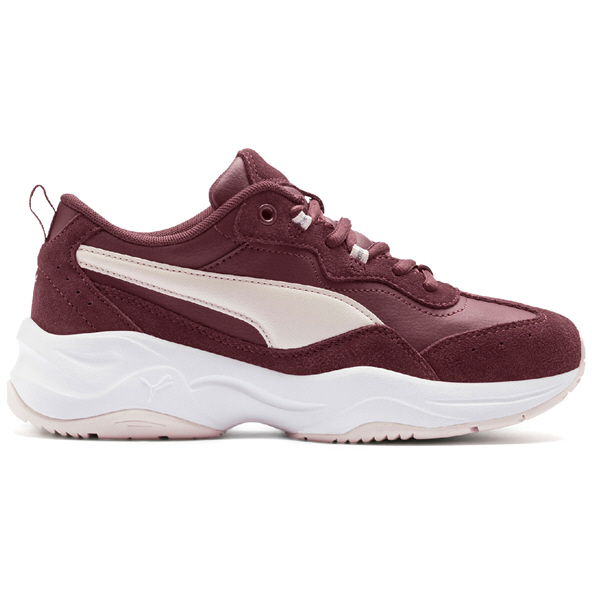 Puma Cilia Suede Training Shoe, Wine