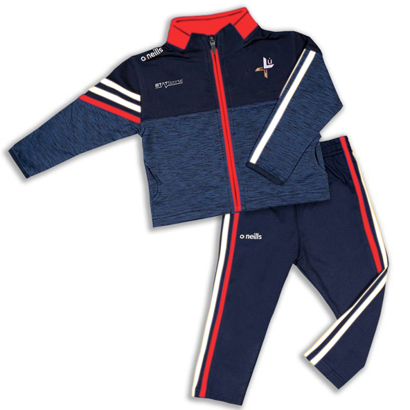 O'Neills Louth Nevis Kid Tracksuit Marin
