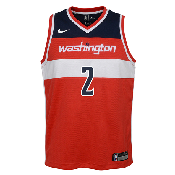 Nike Wizards Wall Kids Jersey Red