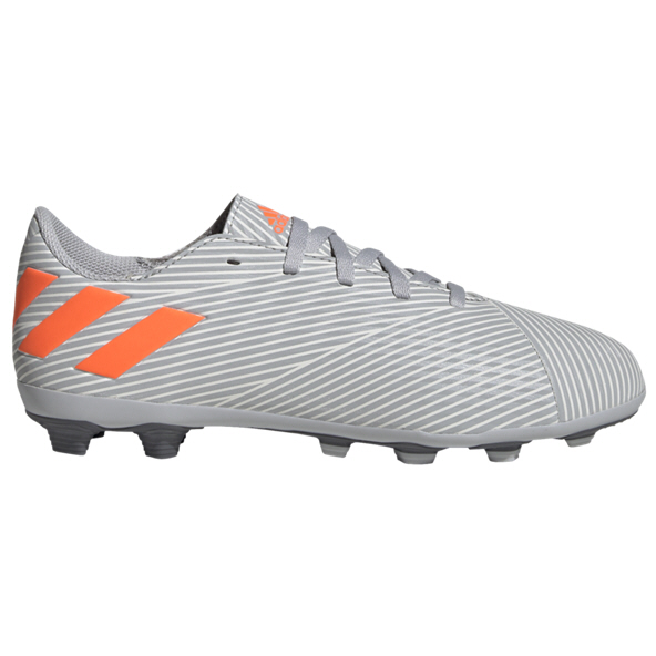 adidas Nemeziz 19.4 FG Kids' Football Boot, Grey