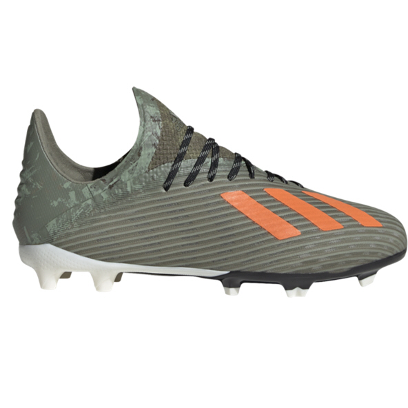 adidas X 19.1 FG Kids' Football Boot, Green
