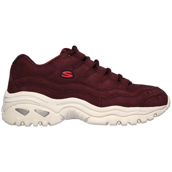 Skechers Energy Wave Dancer Women's Trainer, Burgandy