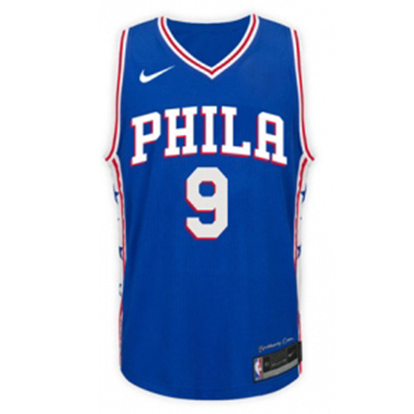 Nike 76ers Saric Kids Jersey Blue