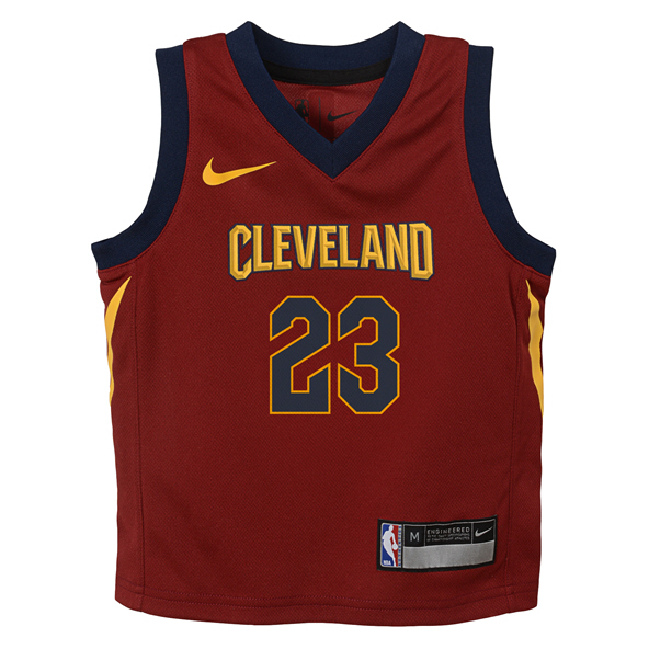 Nike Cavs James Junior Jersey Red