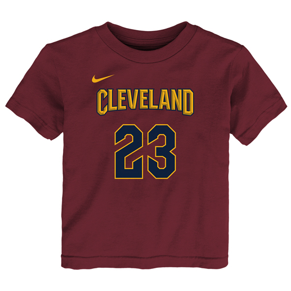 Nike Cavs James Junior Tee Red