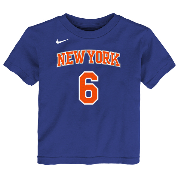 Nike Knicks Porzingis Junior Tee Red